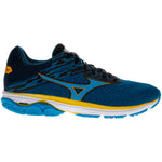 Mizuno Men's Wave Rider 23 Running Shoes Blue Jewel / Black - achilles heel