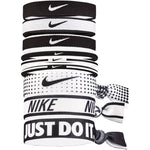 Nike Ponytail Hair Bobbles 9 Pack Black & White