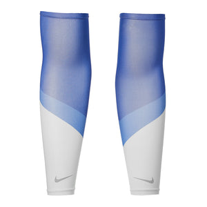 Nike Cooling Running Sleeves Game Royal / Pacific Blue / Silver - achilles heel
