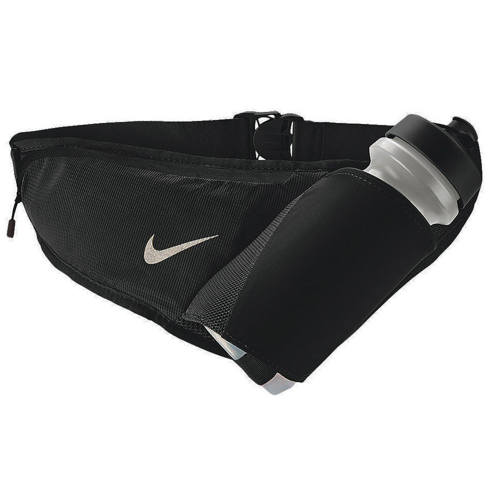 Nike Bottle Belt Large 22oz Black / Silver - achilles heel