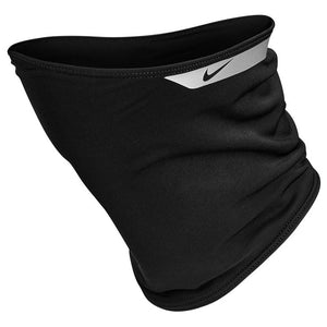 Nike Therma Fit Flash Neck Warmer Black / Silver - achilles heel