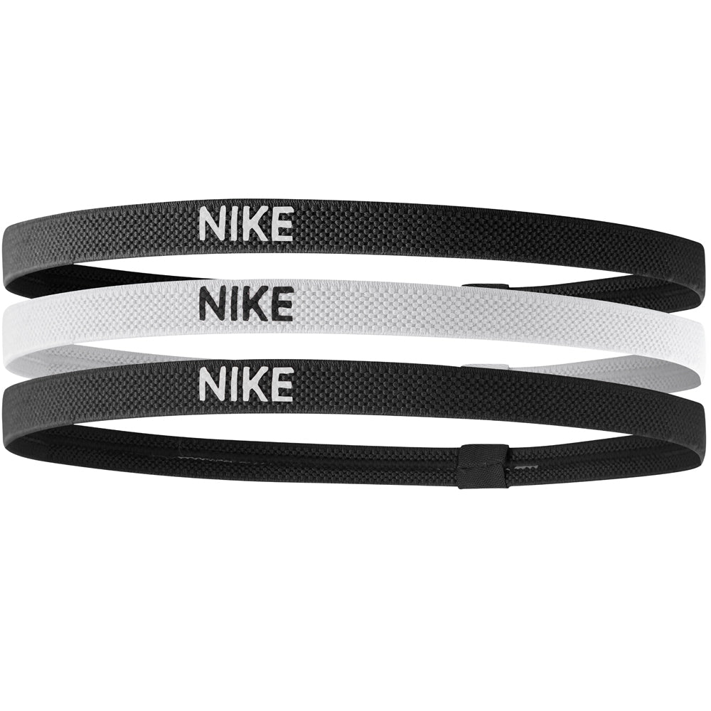 Nike Elastic Headbands Black & White