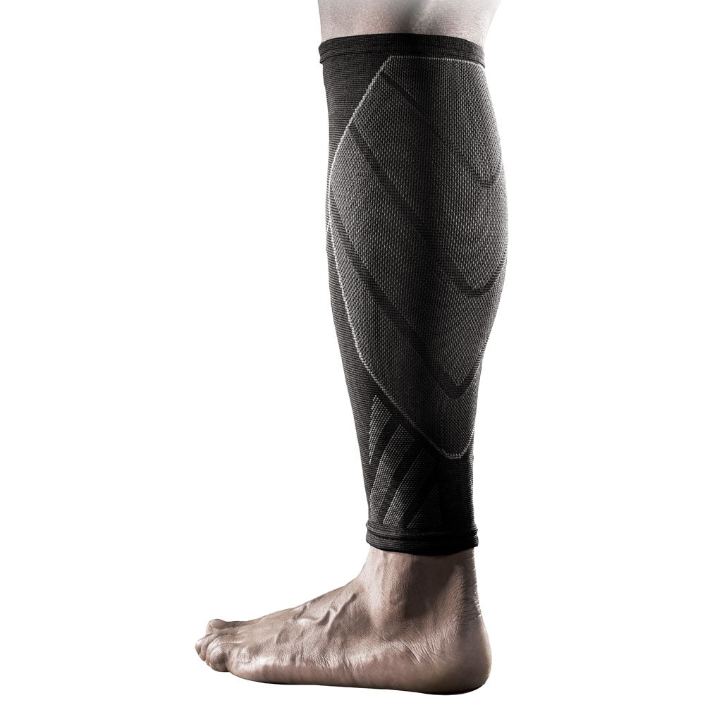 Nike Knit Compression Calf Sleeve Black - achilles heel