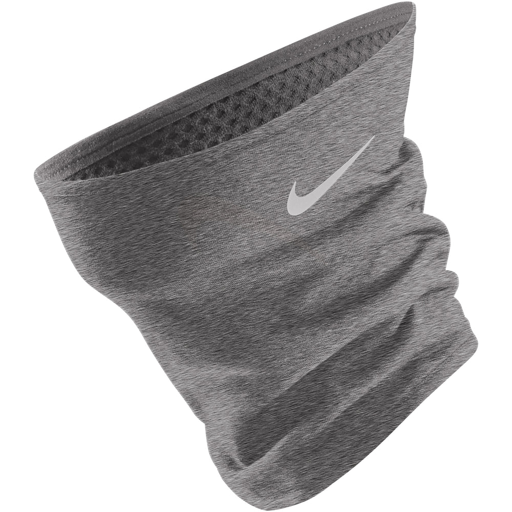 Nike Thermal Neck Warmer Gunsmoke & Silver HO18 - achilles heel