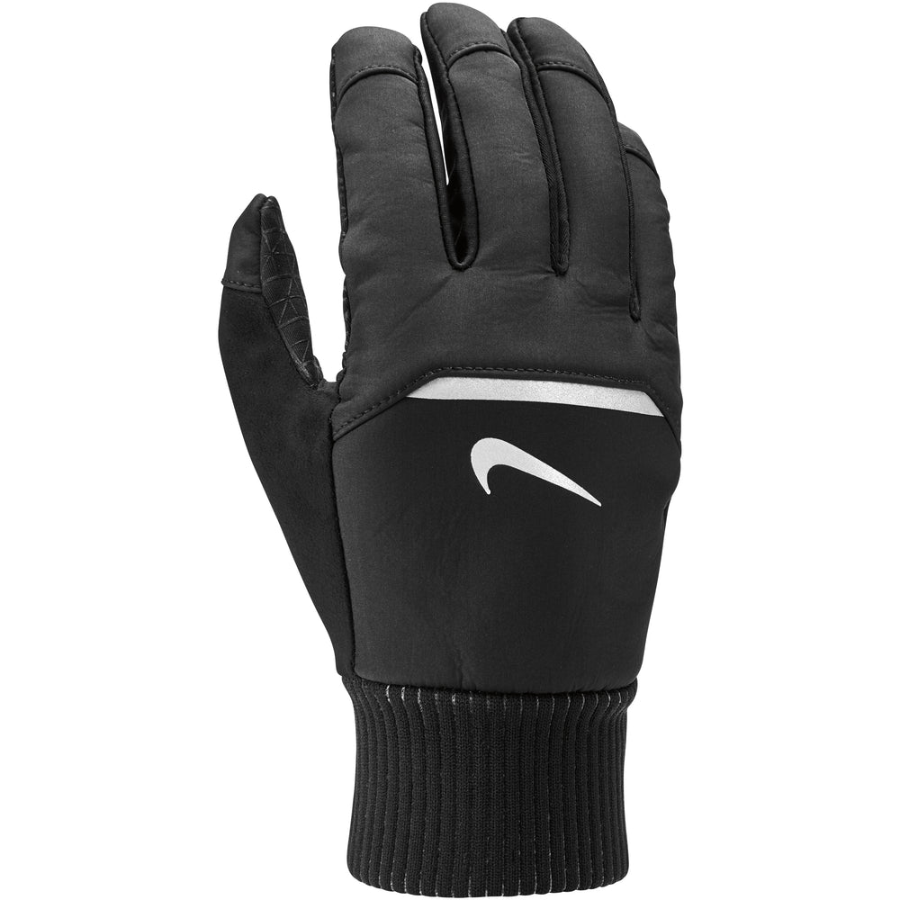 Nike Men's Shield Run Gloves Black & Grey