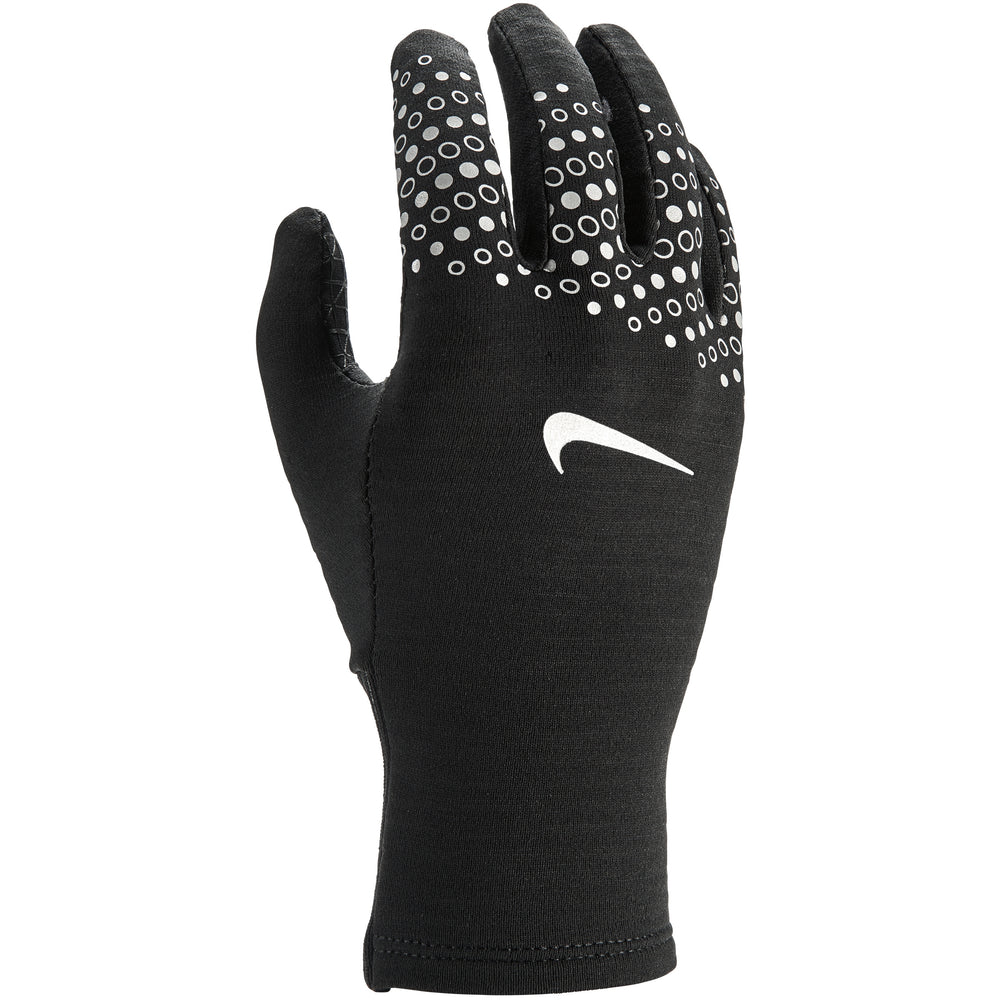 Nike Women's Sphere Flash Run Gloves Black & Silver