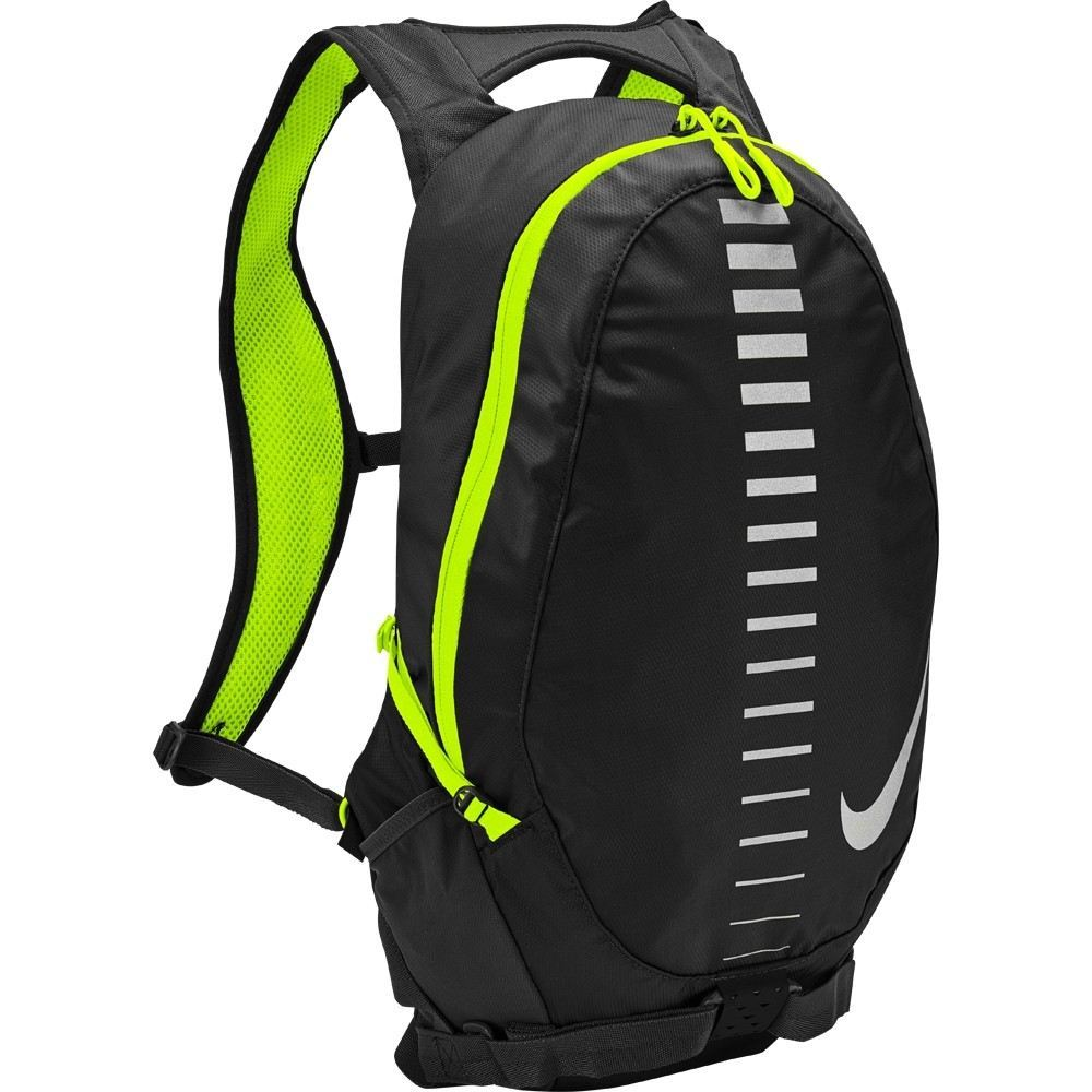 Nike Run Commuter Backpack 15L Black & Volt Silver