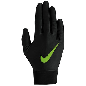 Nike Kids Pro Base Layer Run Gloves Black / Volt - achilles heel