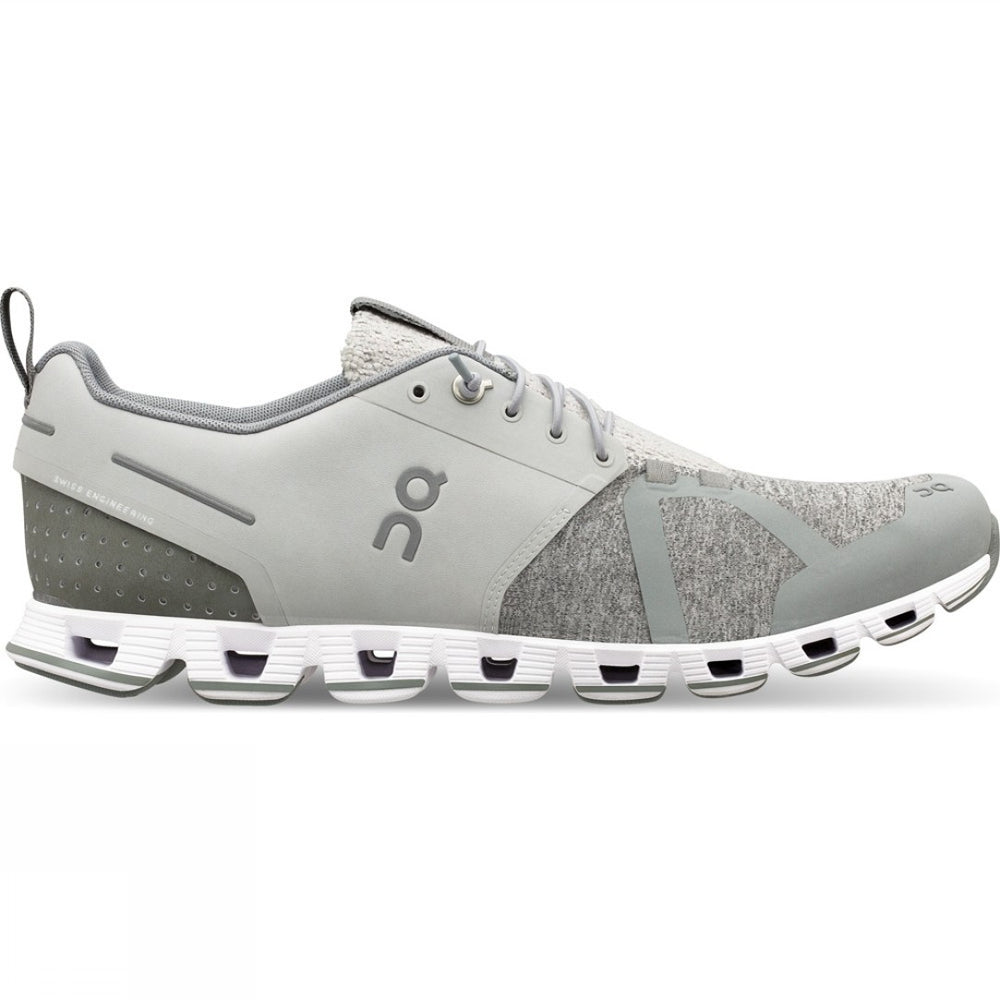 On Men's Cloud Terry Running Shoes Silver AW19