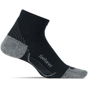 Feetures PF Relief Quarter Socks Black