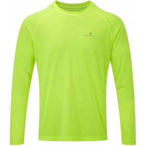 Ronhill Men's Everyday Top Fluo Yellow - achilles heel