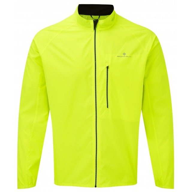 Ronhill Men's Everyday Jacket Fluo Yellow - achilles heel