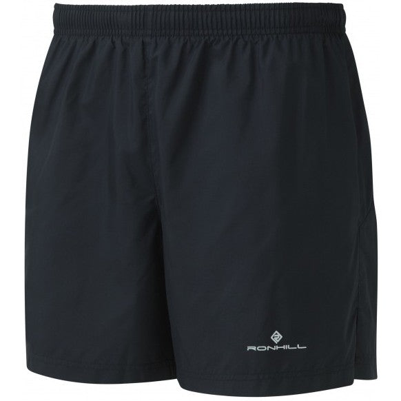 Ronhill Men's Everyday 5 Inch Short Black - achilles heel