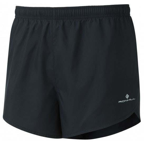 Ronhill Men's Everyday Split Short Black - achilles heel
