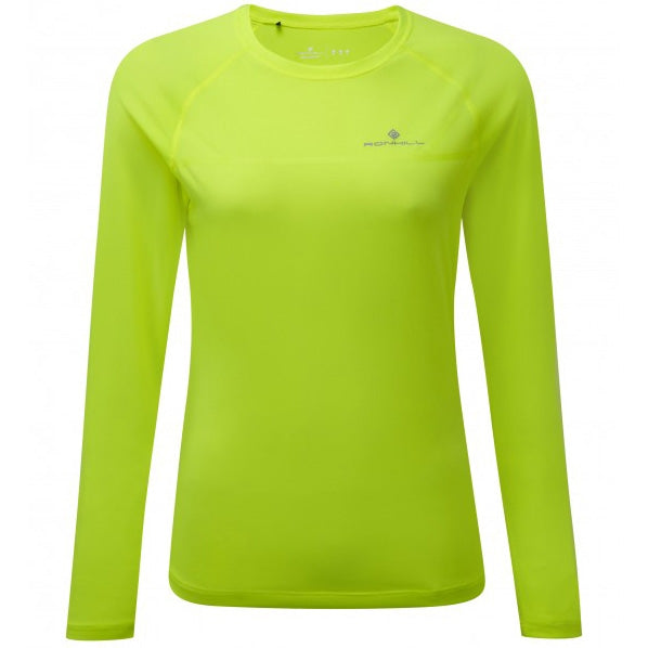 Ronhill Women's Everyday Top Fluro Yellow