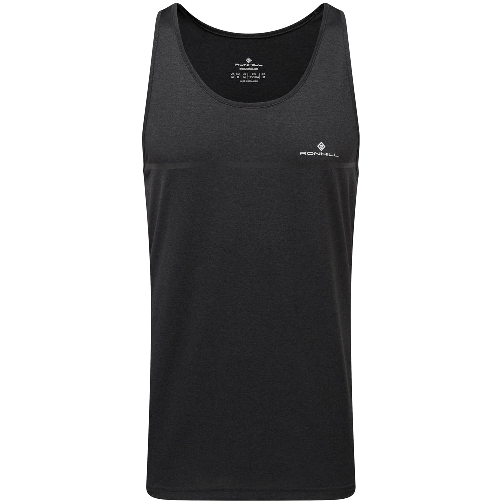 Ronhill Men's Everyday Vest Charcoal Marl SS19 - achilles heel