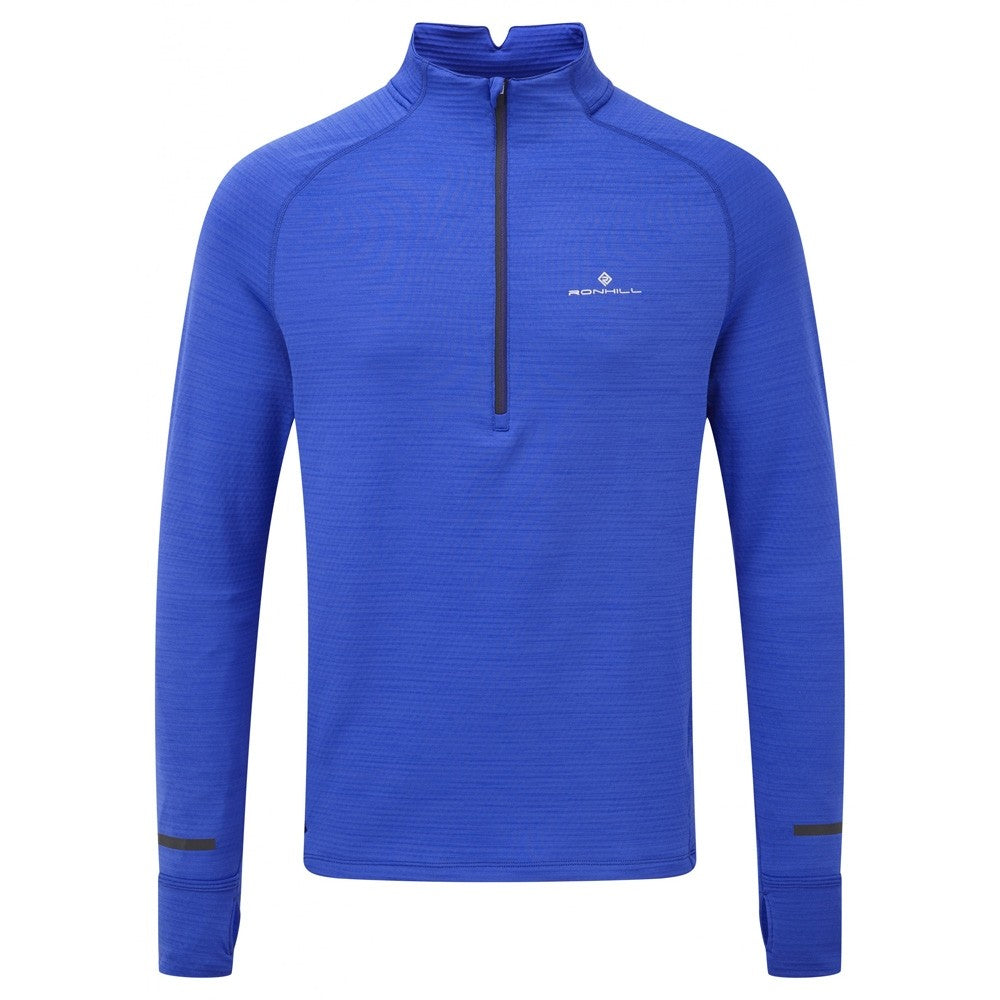 Ronhill Men's Stride Matrix 1/2 Zip Top Azurite AW18