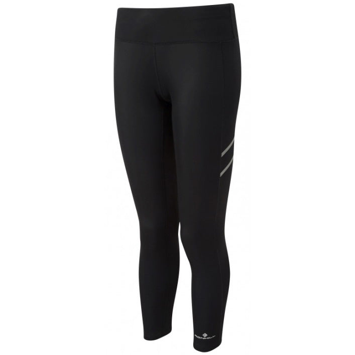 Ronhill Women's Stride Winter Tight Black - achilles heel