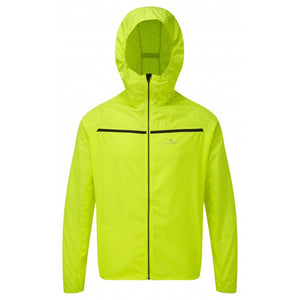 Ronhill Men's Momentum Afterlight Jacket Fluo Yellow AW18