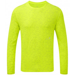 Ronhill Men's Momentum Afterlight Top Fluo Yellow AW18 - achilles heel
