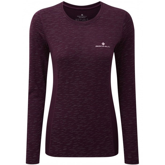 Ronhill Women's Momentum Afterlight Top Aubergine