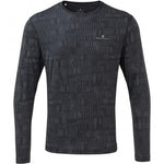 Ronhill Men's Momentum Afterlight Top Charcoal