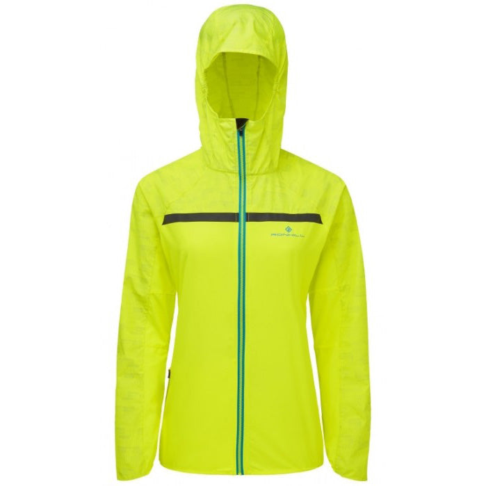 Ronhill Women's Momentum Afterlight Jacket Fluo Yellow