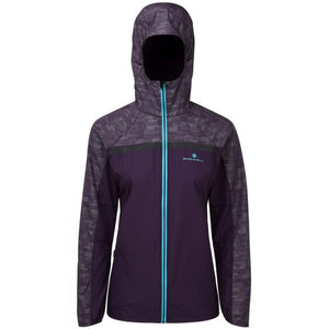 Ronhill Women's Momentum Afterlight Jacket Blackberry - achilles heel