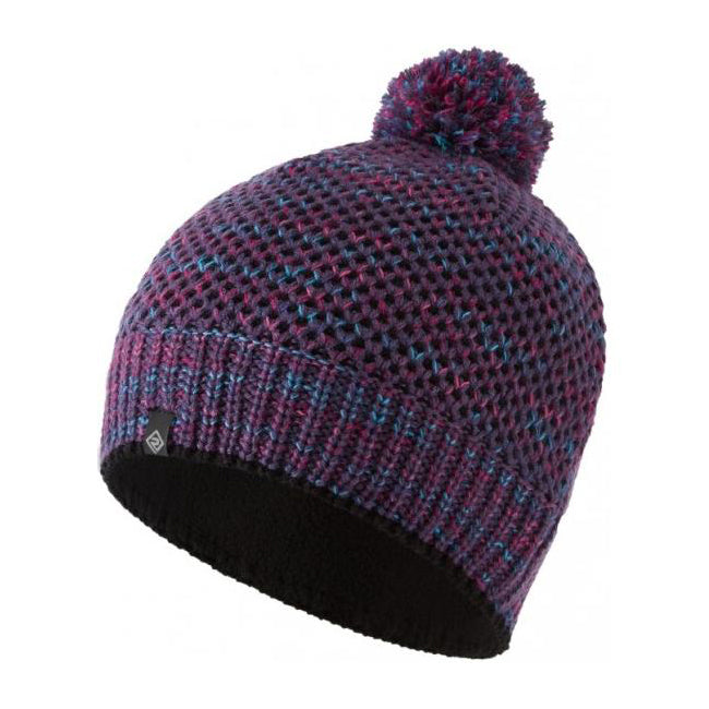 Ronhill Bobble Hat Blackberry / Aquamint - achilles heel
