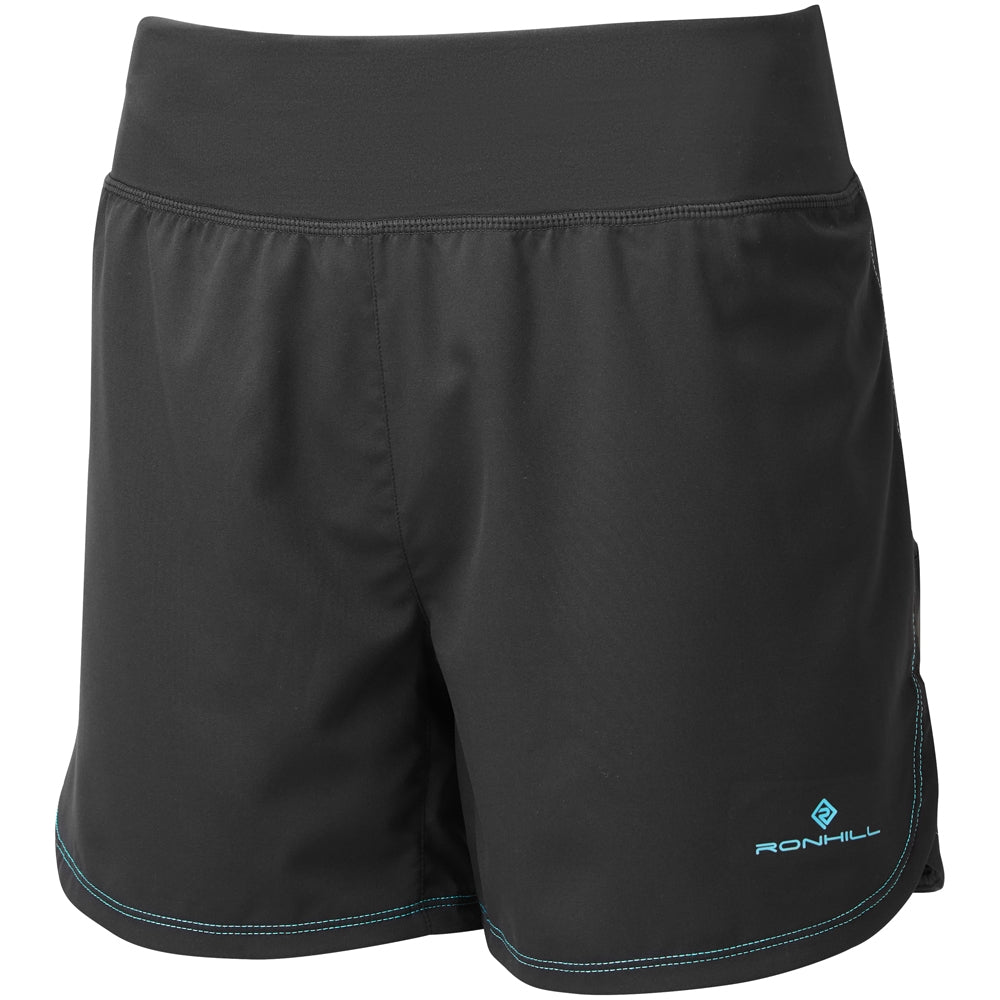 Ronhill Women's Stride Cargo Short Black & Peacock SS19