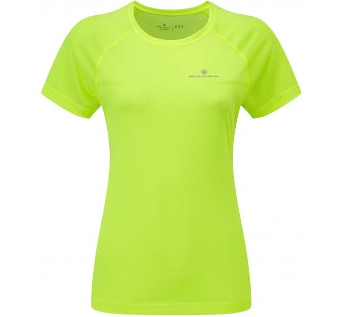 Ronhill Women's Everyday Tee Fluro Yellow