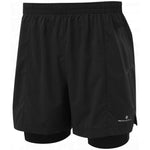 Ronhill Men's Infinity Marathon Twin Short Black