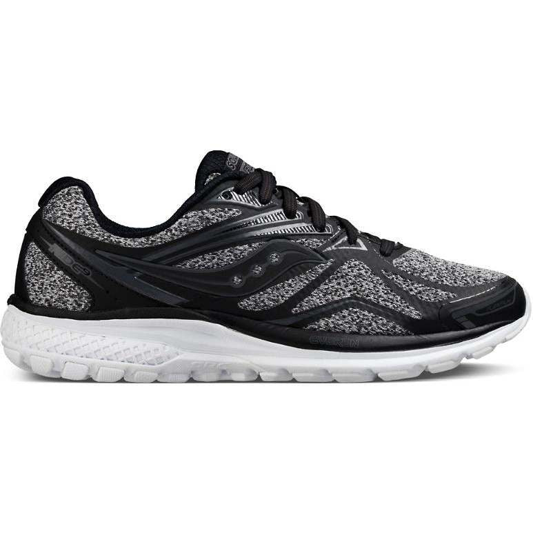 Saucony Women's Ride 9 LR Running Shoes Grey