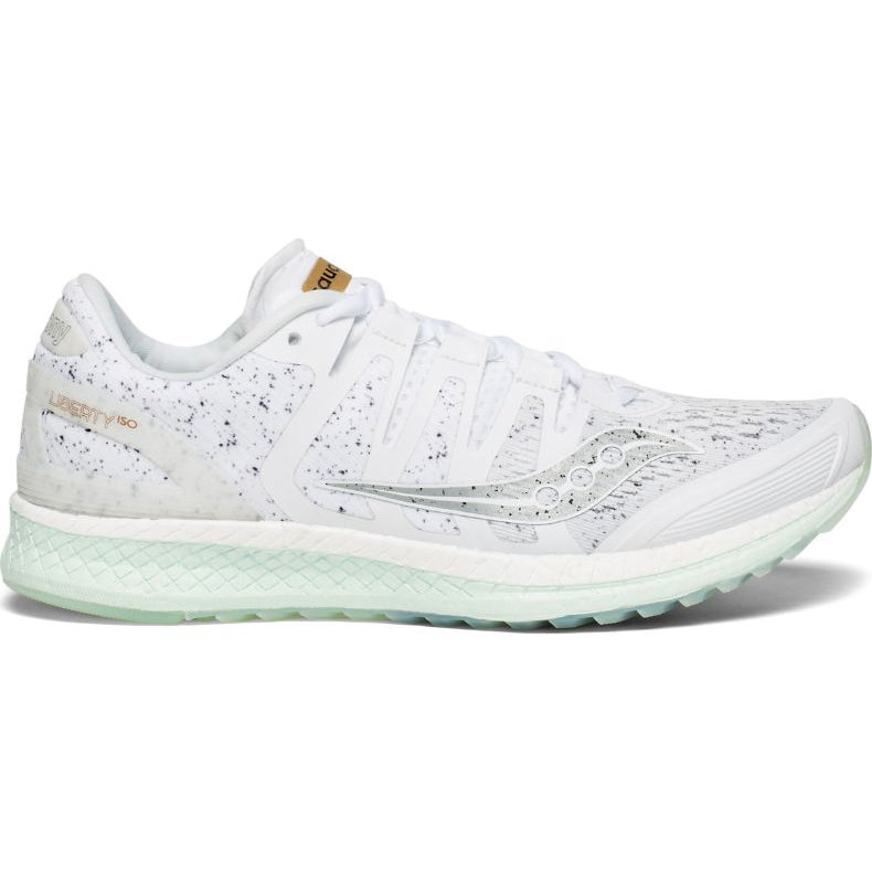 Saucony Women's Liberty ISO 'White Noise' Running Shoes AW18