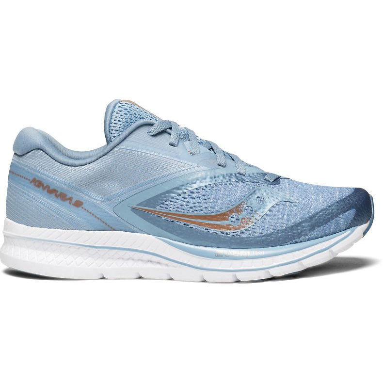 Saucony Women's Kinvara 9 Running Shoes Blue, Denim & Copper SS18