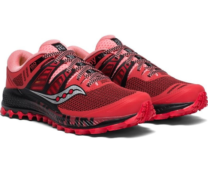 Saucony Women's Peregrine ISO Trail Running Shoes - achilles heel