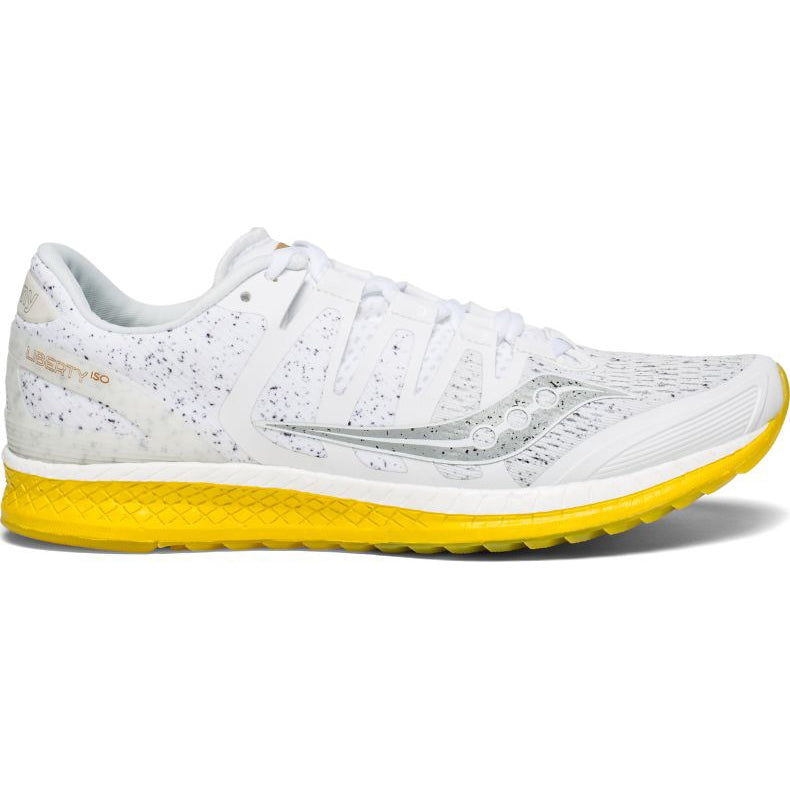 Saucony Men's Liberty ISO 'White Noise' Running Shoes White