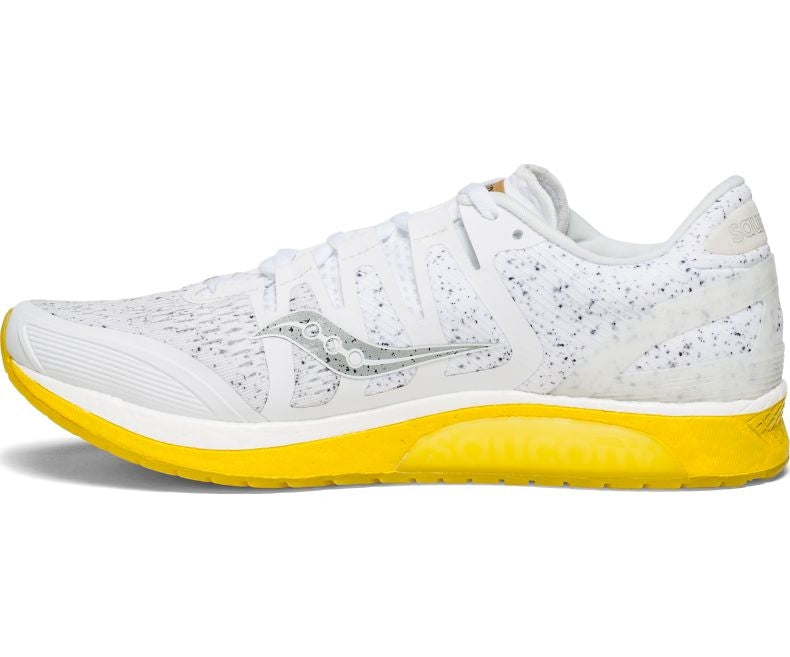 Saucony Men's Liberty ISO 'White Noise' Running Shoes AW18