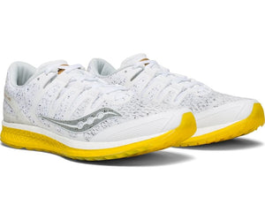 Saucony Men's Liberty ISO 'White Noise' Running Shoes White - achilles heel