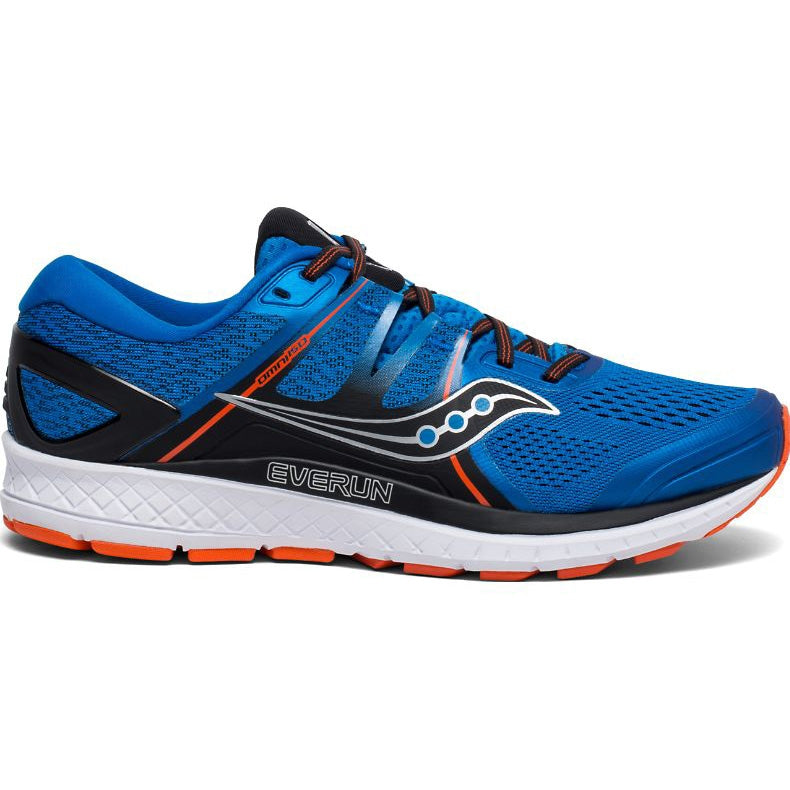 Saucony Men's Omni ISO Running Shoes Blue / Orange