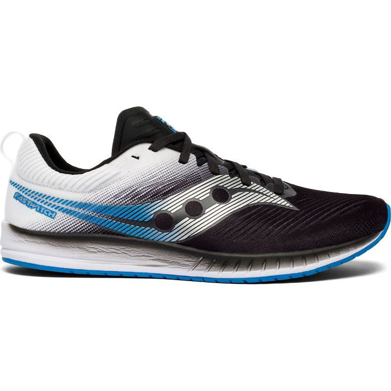 Saucony Men's Fastwitch 9 Running Shoes Black / White
