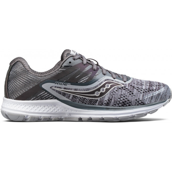 Saucony Women's Ride 10 Running Shoes Grey