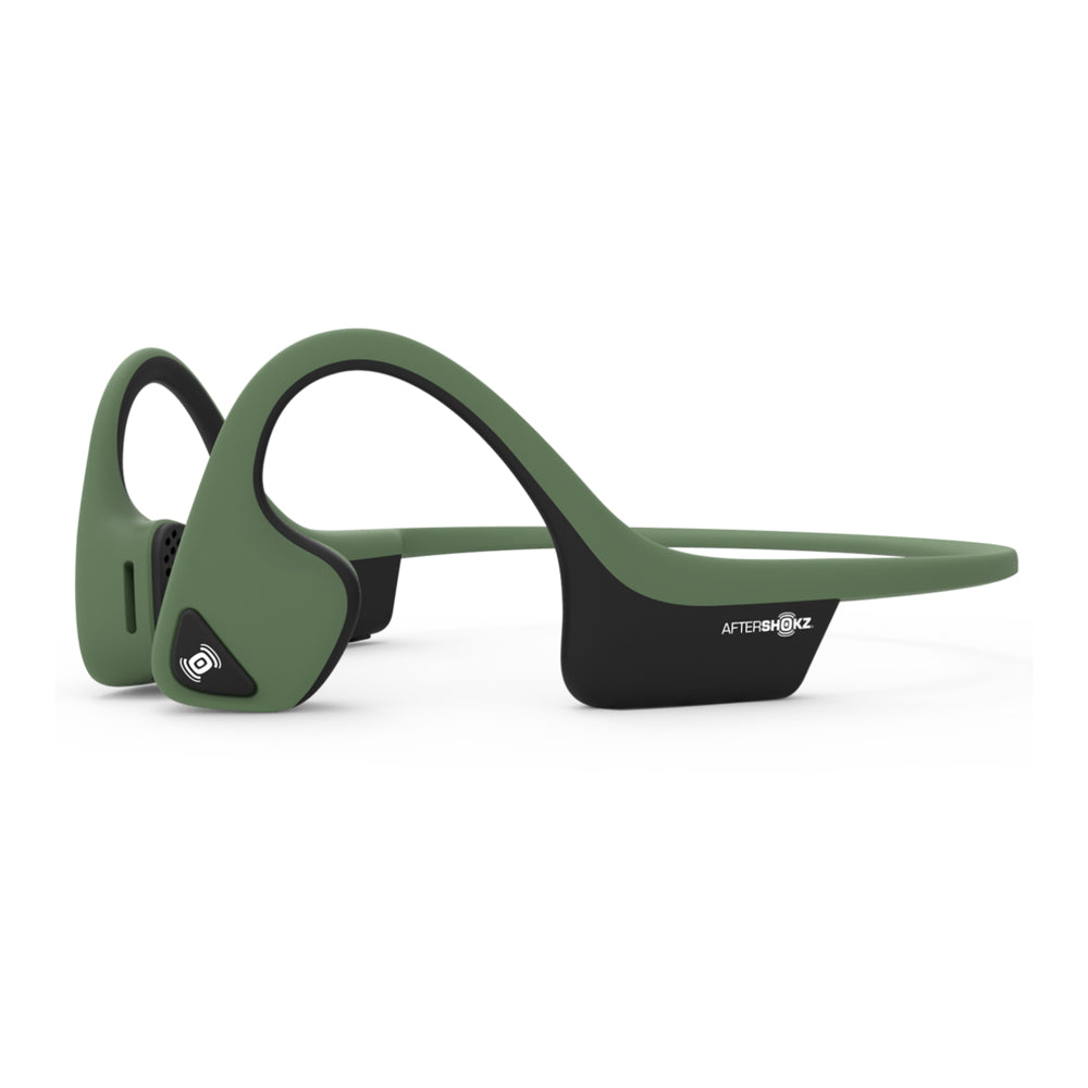 Aftershokz Air Headphones Forest Green - achilles heel