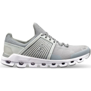 On Women's CloudSwift Running Shoes Glacier White - achilles heel