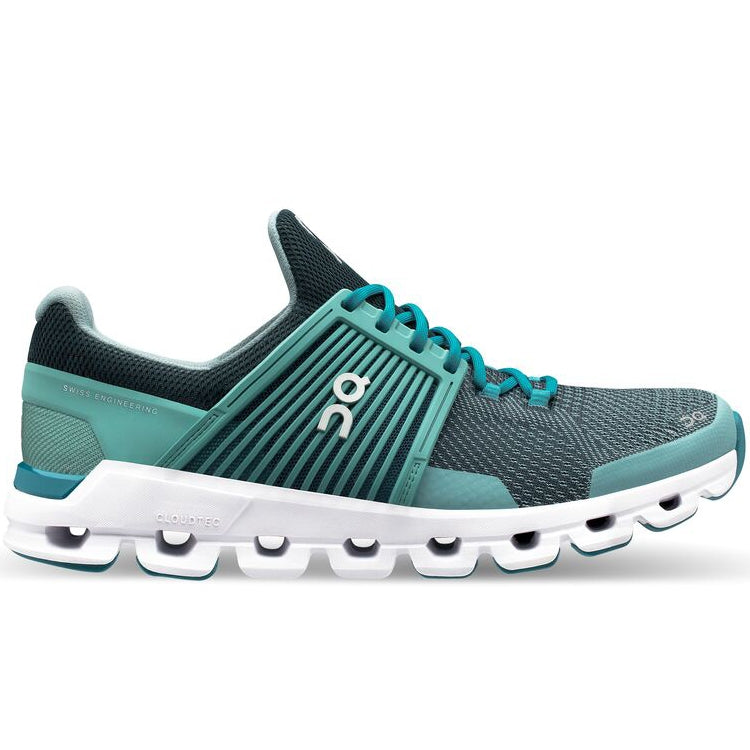 On Women's CloudSwift Running Shoes Teal & Storm