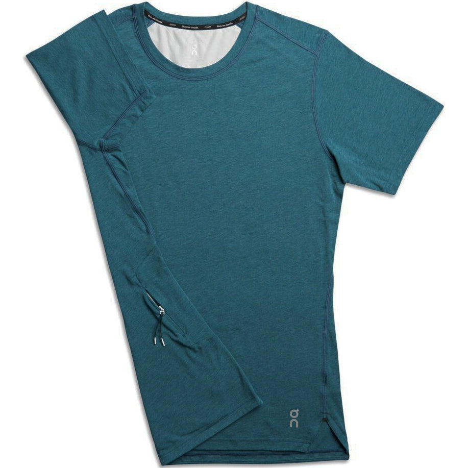 On Men's Comfort Tee Navy - achilles heel