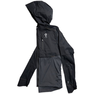 On Men's Weather Jacket Black & Shadow