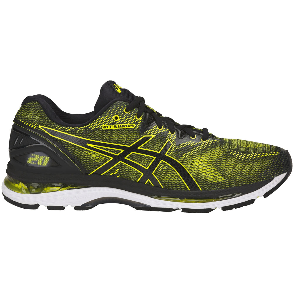 Asics Men's Gel Nimbus 20 Running Shoes SS18 8990 - achilles heel