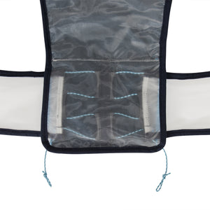 Ultimate Direction Adventure Vest 4.0 Silver, Grey & Blue - achilles heel