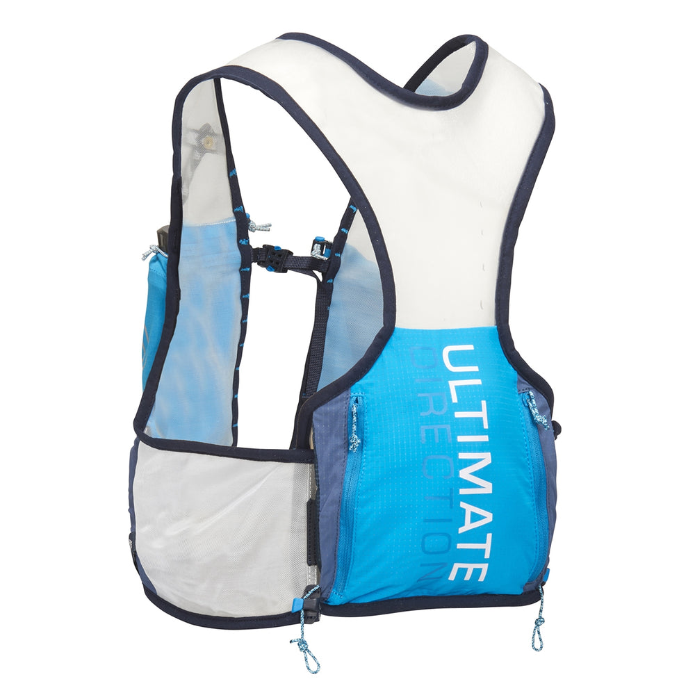 Ultimate Direction Race Vest 4.0 Silver, Grey & Blue - achilles heel